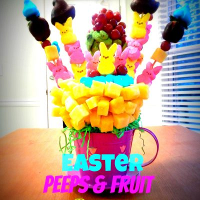 PEEPS & Fruit Bouquet