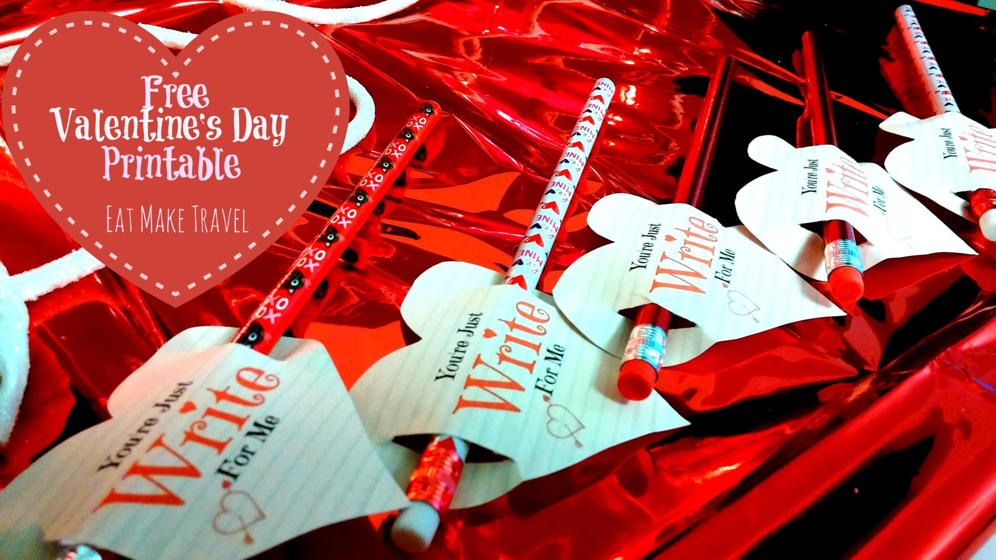 **FREE PRINTABLE** Easy Valentine's for the class