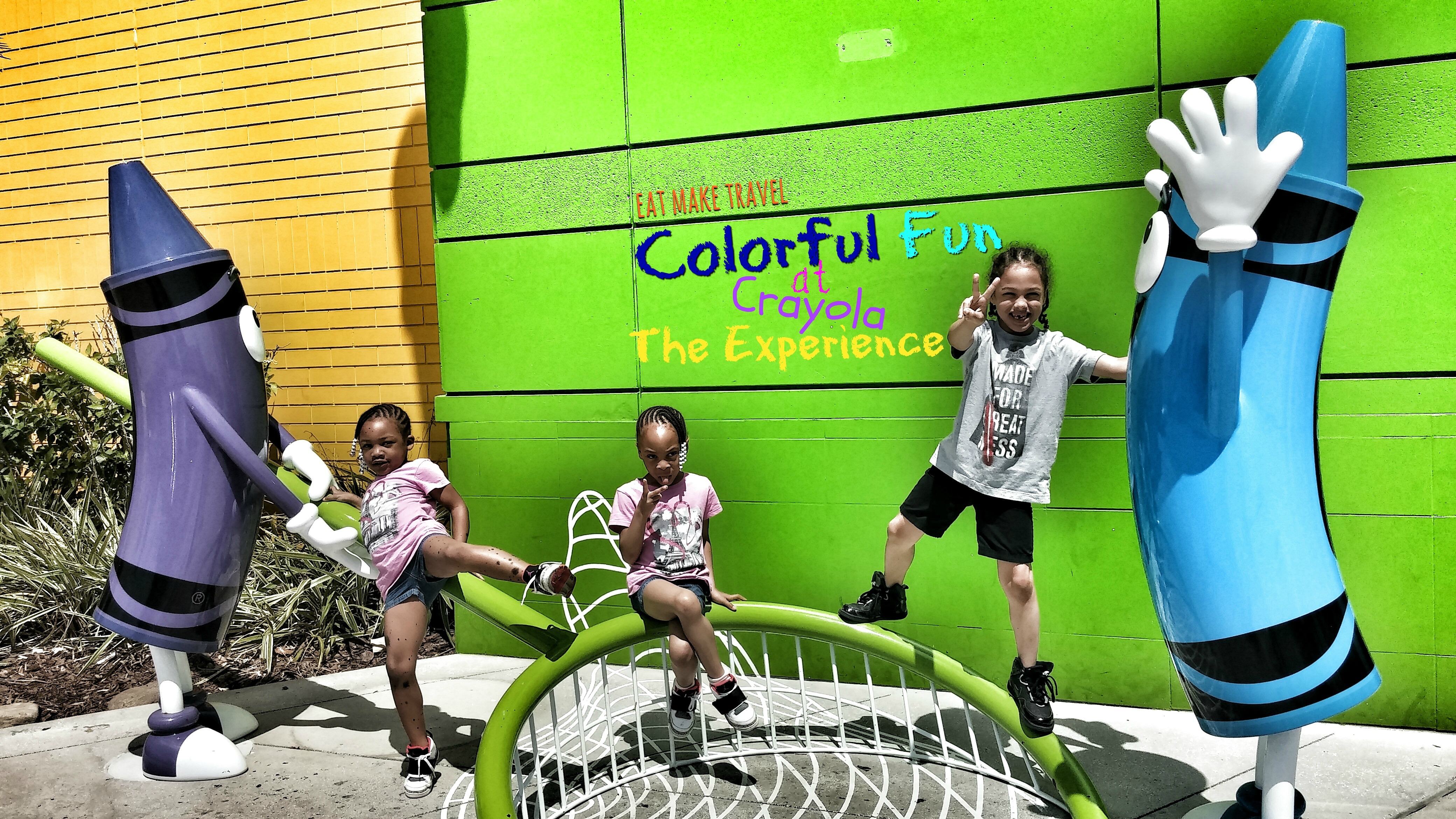 Colorful Fun at Crayola the Experience
