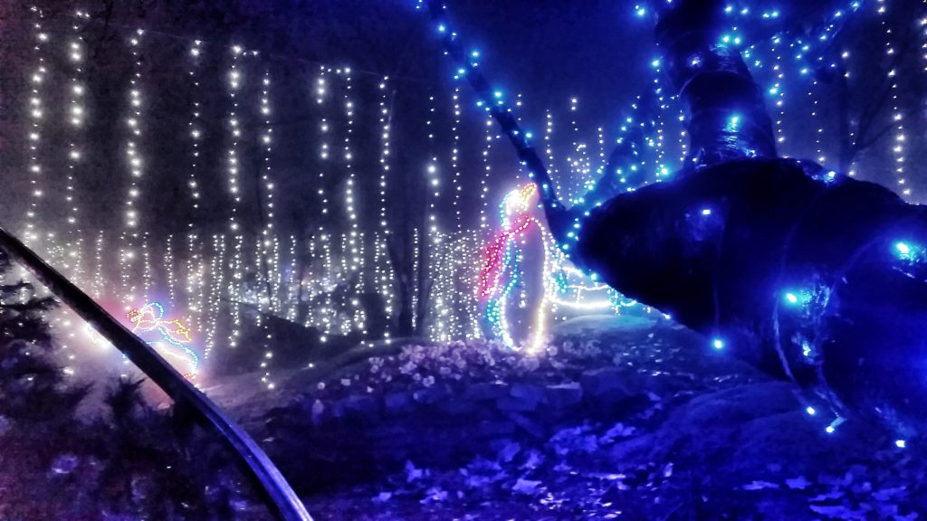 A visit to rock city 39 s enchanted garden of lights - Rock city enchanted garden of lights ...