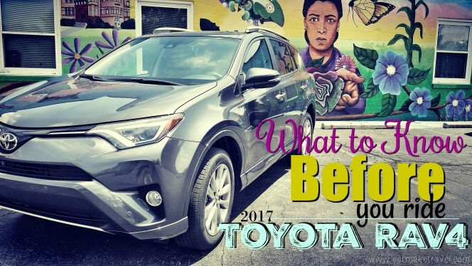 What to know before you Ride: 2017 Toyota RAV4