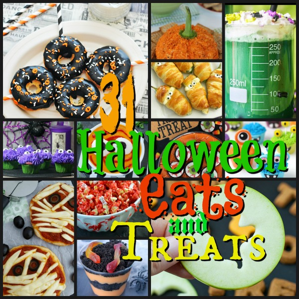 31 Halloween Eats and Treats!