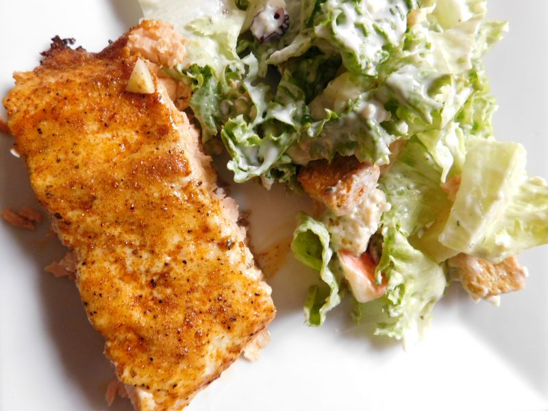 Baked Moist Salmon Recipe