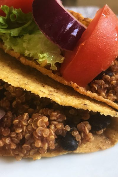 Vegan Taco Meat www.seekingtheweekend.com