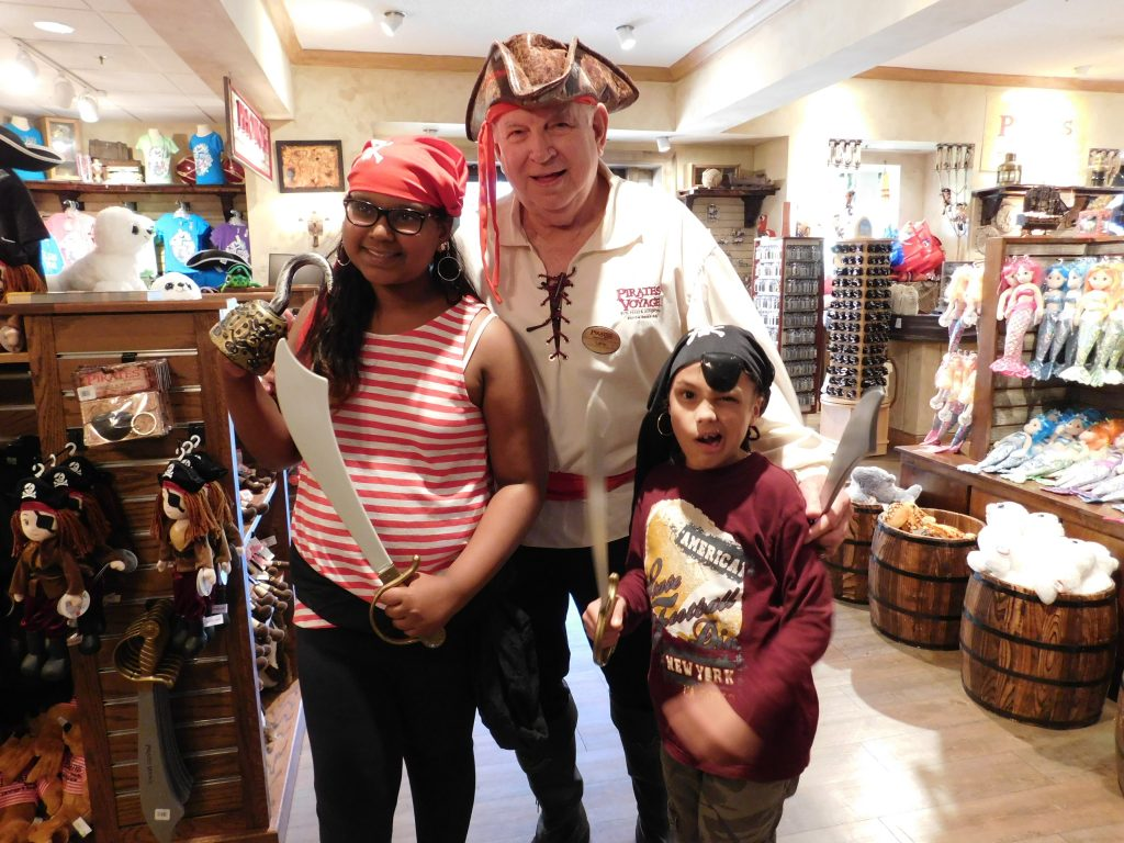 Kids at Pirate Voyage