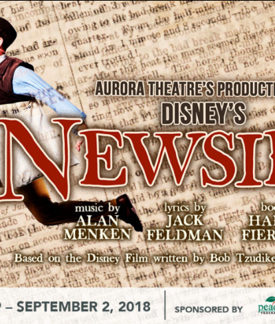 NEWSIES DISNEY AURORA THEATRE