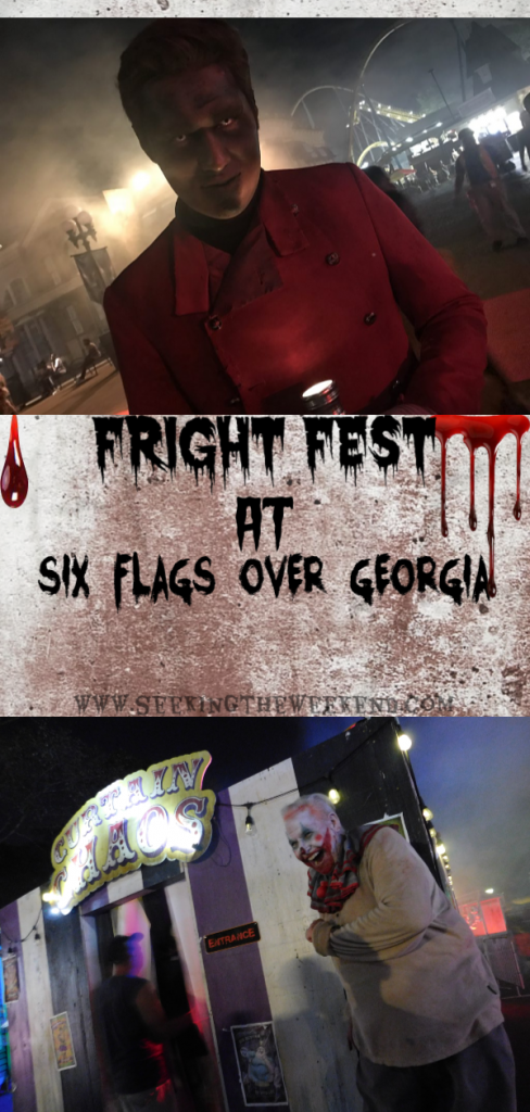 Fright Fest, Six Flags Over Georgia,