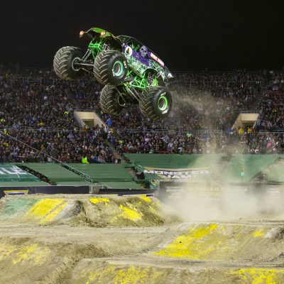 Monster Jam crashes Mercedes Benz February 23-24th! This free-style competition will leave your jaw dropped. Monster Jam is great for the whole family.