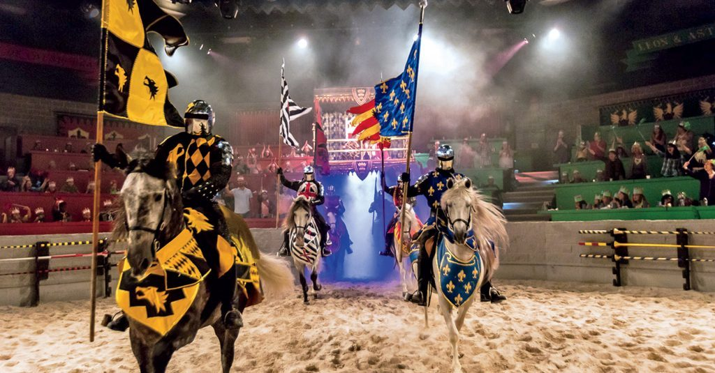5 reasons to have a mother-son date knight at Medieval Times. There are many reasons you'd want to visit, but here my 5 when going with your son.