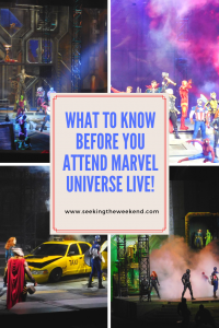 Marvel Universe LIVE! is one of the best shows we've seen. Its the perfect show for your SUPER child. Read about what you need to know before you go!