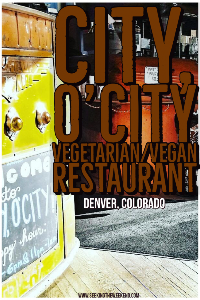 City, O'City is a vegetarian and vegan restaurant in Denver, Colorado. The food is amazing, the prices aren't terrible. Even the meat eater will love them.
