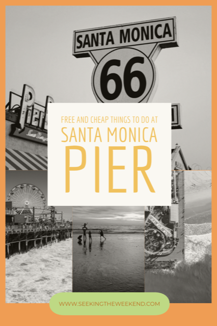 Free and cheap things to do at Santa Monica Pier